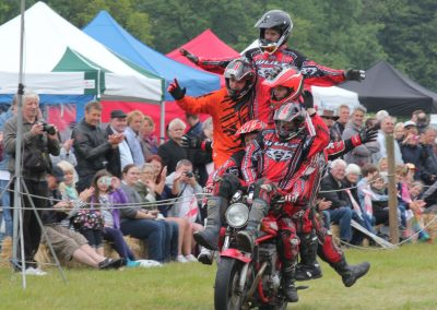 Bike stunt team doing their thing in 2015