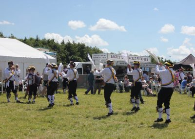 Morris Dancers showing off their skills