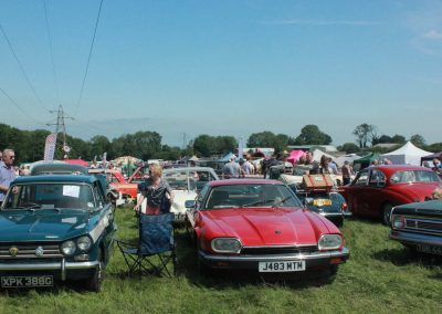 Some great vintage cars on display