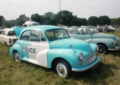 Stop police - lovely vintage cars