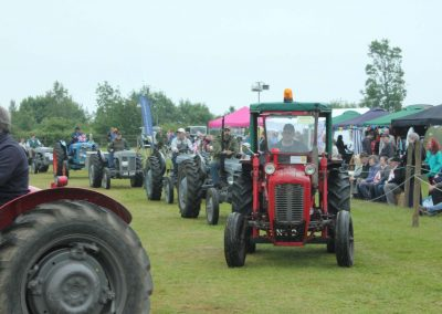 Rolling on - the 2015 tractor parade